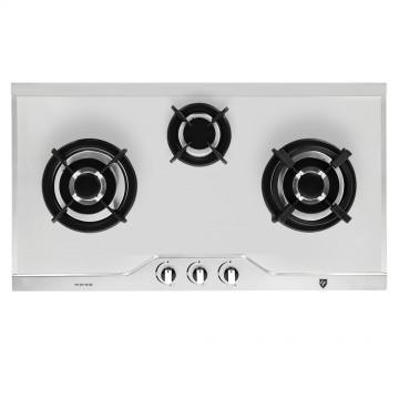 EF 86 cm, 3 burners (2 triple ring), EFH 3971 TN VSB