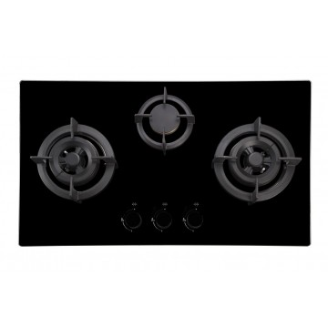 EF 76 cm, 2 triple ring & 1 semi rapid burners, EFH 7632 HM VGB