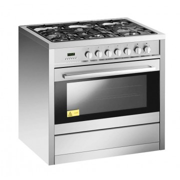 EF 90cm Standing Cooker GC AE9650 A SS