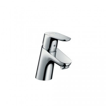 """Hansgrohe Focus Single lever basin mixer 70 with pop-up waste set, 1/2"""" nut, 2 Ticks"""