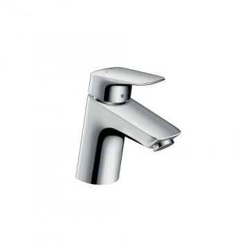 """Hansgrohe Logis Single lever basin mixer 70, 1/2"""" nut, 2 Ticks"""