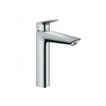 Hansgrohe Logis Single Lever Basin Mixer 190 with pop-up waste set
