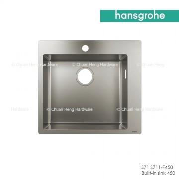 Hansgrohe 43301809 Built-in sink 450