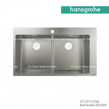 Hansgrohe 43303809 Built-in sink 370/370