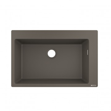 Hansgrohe 43313290 Built-in sink 660 (S510-F660 GS) - Stone Grey