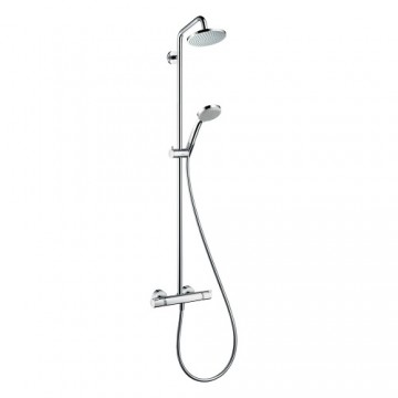 Hansgrohe Croma Showerpipe 160 1jet with thermostat