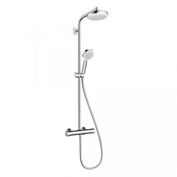 Hansgrohe Crometta Showerpipe 160 1jet with thermostat