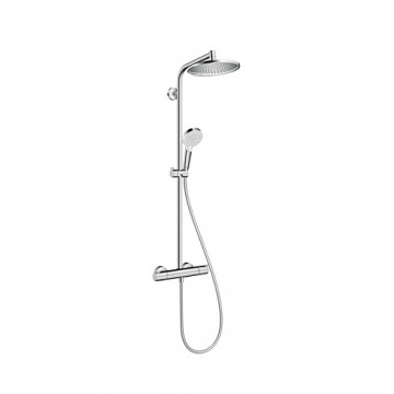 Hansgrohe Crometta S Showerpipe 240 1jet EcoSmart 9 l/min with thermostat