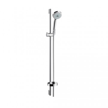 Hansgrohe Croma 100 Multi hand shower/ Unica'C wall bar 0.90 m set