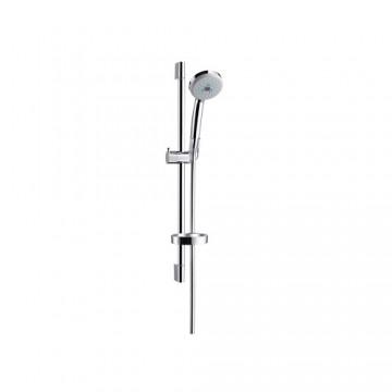 Hansgrohe Croma 100 Multi hand shower/ Unica'C wall bar