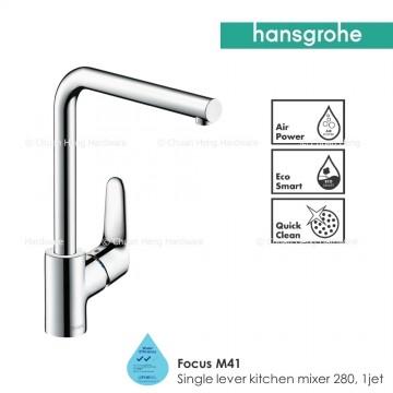 Hansgrohe Focus M41 Single lever kitchen mixer 280