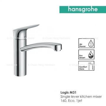 Hansgrohe Logis M31 Single lever kitchen mixer 160