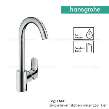 Hansgrohe Logis M31 Single lever kitchen mixer 260