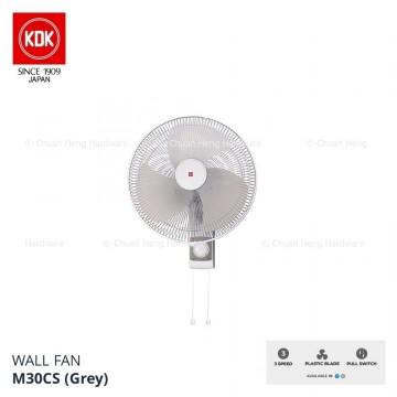 """KDK 12"""" Pull Cord Wall Fan"""