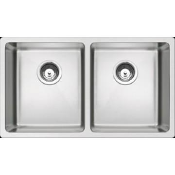 Rubine Stainless Steel Sink Forte Series FOX-820-78-U