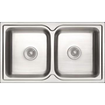 Rubine Stainless Steel Sink Zenith Series ZEX 820
