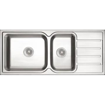 Rubine Stainless Steel Sink Zenith Series ZEX-861