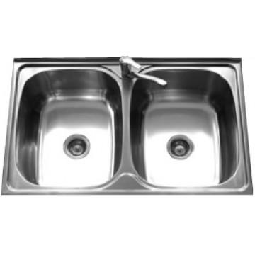 Rubine Stainless Steel Sink Jumbo Series JUX 620-Lay On
