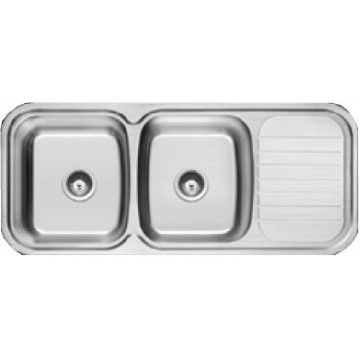 Rubine Stainless Steel Sink Prestige Series PRX-621